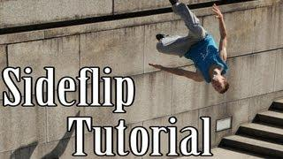 Sideflip Tutorial - Parkour / Freerunning ( Deutsch / German )