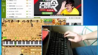 Croatian Rhapsody EOP Keyboard Piano Free Sheet Music