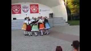20130803 Slovak Folk Dance Group From Brno In Märjamaa