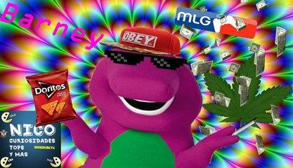 Funny Video - MLG Barney 2018 (español)