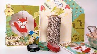 Foxy Spinner Card Tutorial