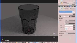 Blender Tutorial: Creating A Glass In Blender (Hebrew)