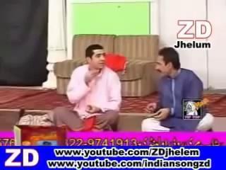 Iftikhra Thakur  Zafri Khan  Very Funny  Pakistani Punjabi Stage Drama Clip