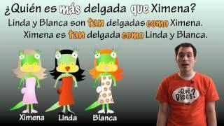 01 Spanish Lesson - Comparisons (part 3) - Tan ___ Como