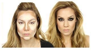 Beyoncé Inspired MakeUp Tutorial / Evening MakeUp / Photo Shoot MakeUp