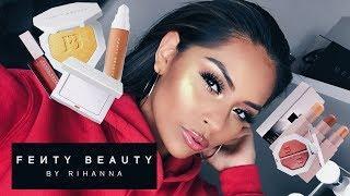 FENTY BEAUTY by Rihanna Review/Makeup Tutorial | Sarahy Delarosa