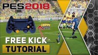 PES 2018 Free Kick Tutorial [PS4, PS3]