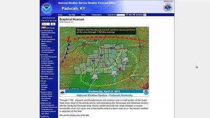 NWS Paducah, KY Website Tutorial - Severe Weather