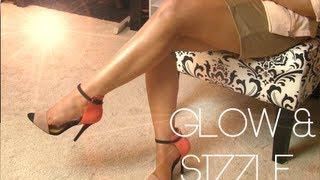 How To Get SEXY LEGS | Cover Scars & Bronze
