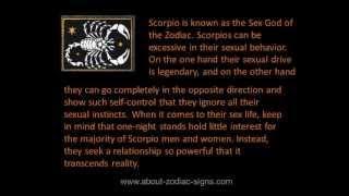 Scorpio turn ons | How to seduce Scorpio?
