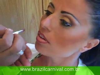 Rio Makeup Carnival Tutorial Video: Brazil Carnival Make-up
