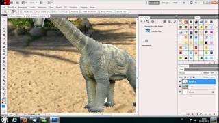 Adobe Photoshop CS5 TUTORIAL - Introduzione E Fotomontaggio Semplice - ITALIANO