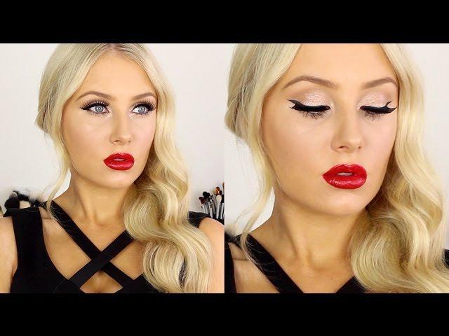 Sexy Modern Pin-Up Makeup & Hair Tutorial