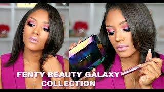 WHAT the HELL Rihanna!? Fenty Beauty Galaxy Collection REVIEW + TUTORIAL