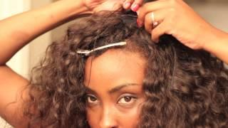 Jacebeauty.com Russian Fede Curly ( Part 2)SEW IN TUTORIAL