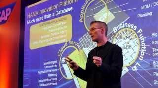 Franz Faerber's Keynote On HANA At SAP Forum Bulgaria 2013