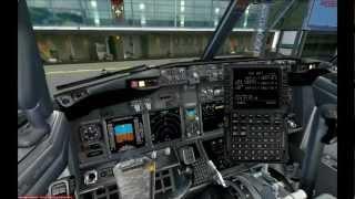 FSX - PMDG 737NGX, Tutorial - Pre-Flight&Take-Off (DANISH)