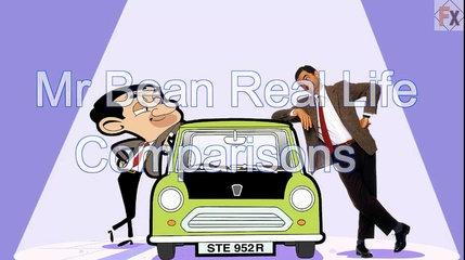 Mr Bean | Cartoon Characters in Real Life! Funny
