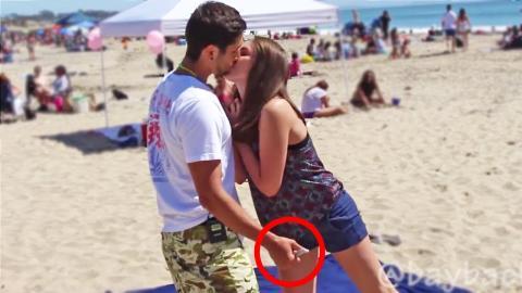 Kissing Prank (Gone Sexual)