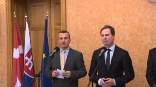 Nicolai Wammen Po Stretnutí S Ministrom Miroslavom Lajčákom