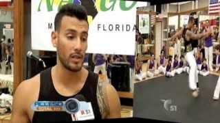 Capoeira Nago Miami Featured In Telemundo 51 (Spanish)