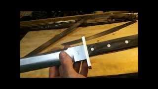 Knife Making Tutorial- The American Wakizashi
