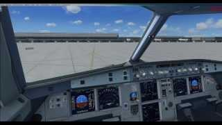 FSX HD TUTO FR Tutoriel Vol Complet Cold And Dark Airbus X Extended A320