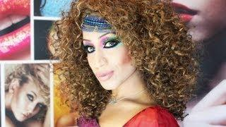Carnival Inspired Arabic Make Up Tutorial&COMPETITION WIN ARTIST PALETTE!