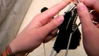 Del 6. Sticka Sockor : Börja På Hälen