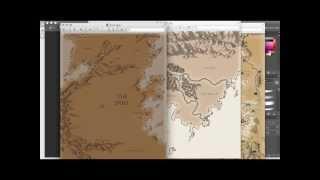Fantasy Mapmaking Tutorial (1 Of 5)