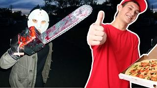 Top 5 Funniest PIZZA DELIVERY GUY PRANKS! (Hilarious Jump Scare, Creepy Customers & Funny Fails)