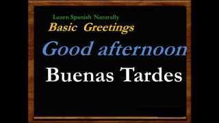 Free Spanish Lessons Tutorials Learn Español Basic Everyday Language (I-1)