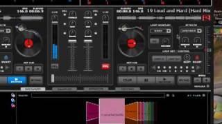 Virtual DJ Tutorial - Musik Ineinander Schneiden / Flüssiger Übergang Deutsch / German