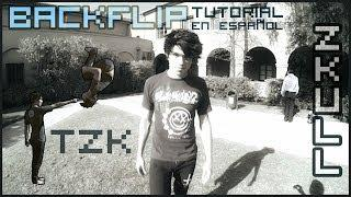 TUTORIAL BACKFLIP - En Español - TZK