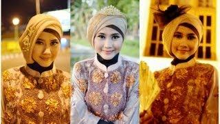 Tutorial Hijab Modern Paris   Tutorial Hijab Pesta Dan Wisuda By Didowardah - Part #24