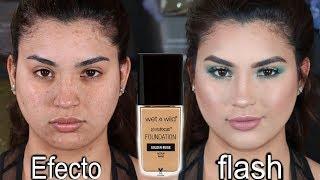 Tutorial de maquillaje Facil paso a paso y reseña de la base de farmacia wet n wild