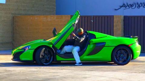 Stealing McLaren Prank