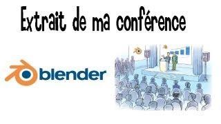 Blender Tutoriel Français :Rediffusion Emission N°1 Partie1 Les Bases De Blender