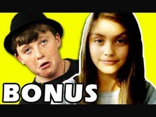 BONUS - Kids React to Girl With a Funny Talent