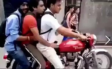 Bike Stunt Funny- Video Dailymotion