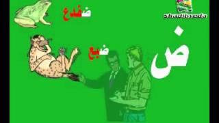 تعليم الحروف العربية للأطفال كاملة