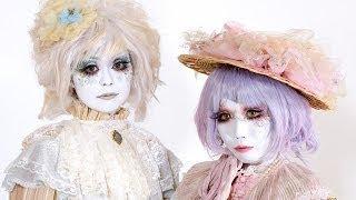 Shironuri Makeup Tutorial By Minori -白塗り メイク
