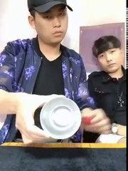 Komik çinli sihirbaz :-) Funny chinese