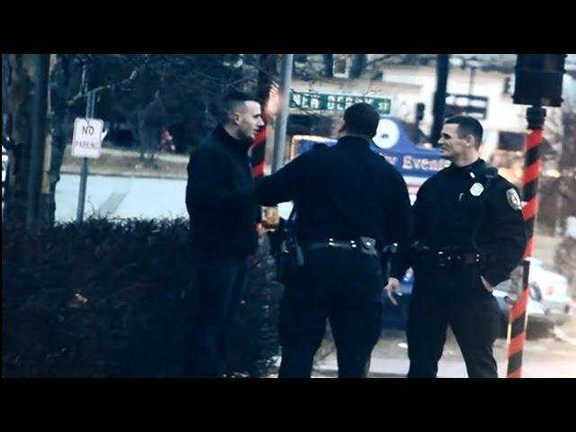 Prank on Cops - Drinking In Public
