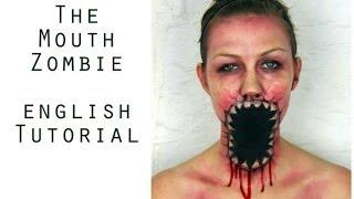 Halloween Make Up - Zombie Tutorial (english) | Jenni Copper