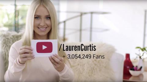 Lauren Curtis on YouTube: Make Up Your Own Rules
