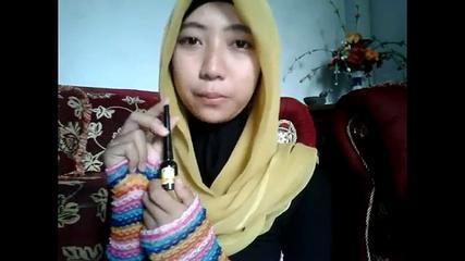 How To Tutorial Make Up Hijab Daily (English Language) By Naffa Nr