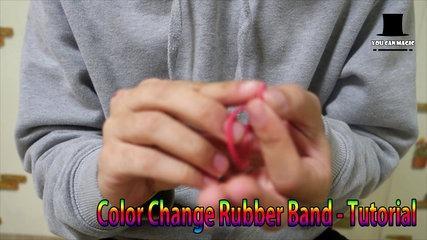 Magic Tutorial) Amazing Rubber Ban Magic Trick