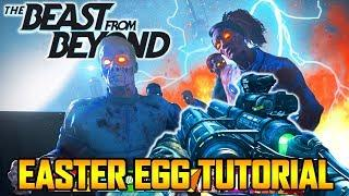 THE BEAST FROM BEYOND - EASY MAIN EASTER EGG TUTORIAL GUIDE WALKTHROUGH! (Infinite Warfare Zombies)