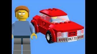 How to make a lego car - Lego car tutorial
